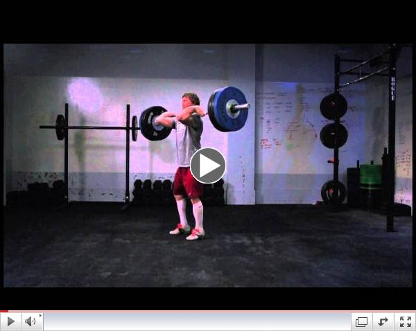 CrossFit - Chad Vaughn, 315 pound Clean and Jerk