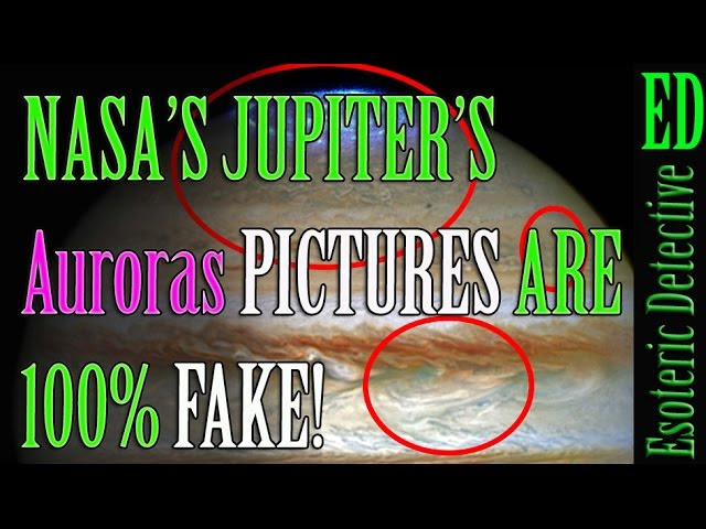 100% Proof NASA's Hubble 2016 image of Jupiter's auroras are FAKE  Sddefault
