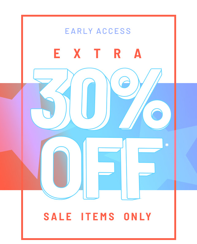30% Off Sale Items