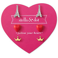 Paris Trio Earring Set