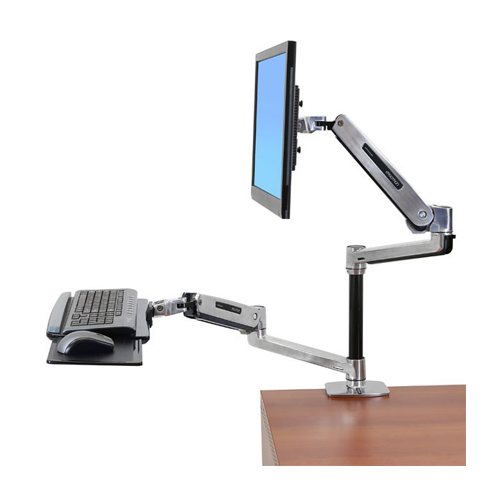 ERGOTRON WORKFIT-LX, SIT-STAND DESK MOUNT SYSTEM