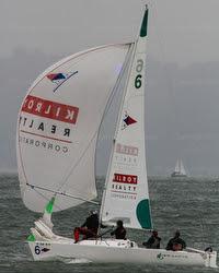J/22 Kilroy Realty sponsor- sailboat in San Francisco