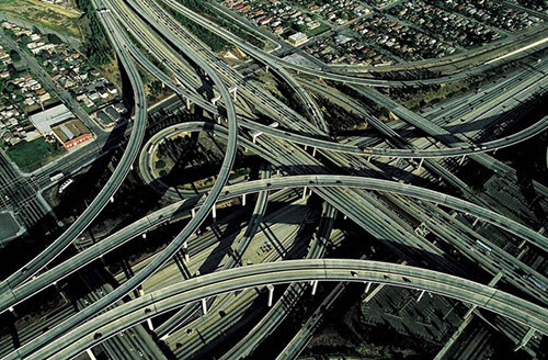 HarryPregersonInterchange in Awesome Pictures of Crazy Intersections and Interchanges