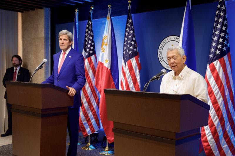 Kerry Sec Yasay Meet, July 2016