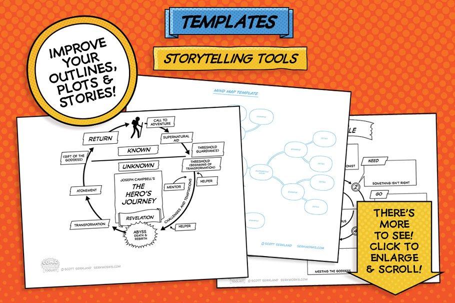 comic storytelling tools