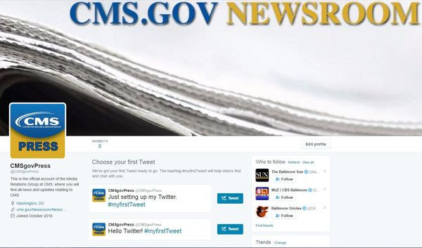 CMSgovPress Screenshot