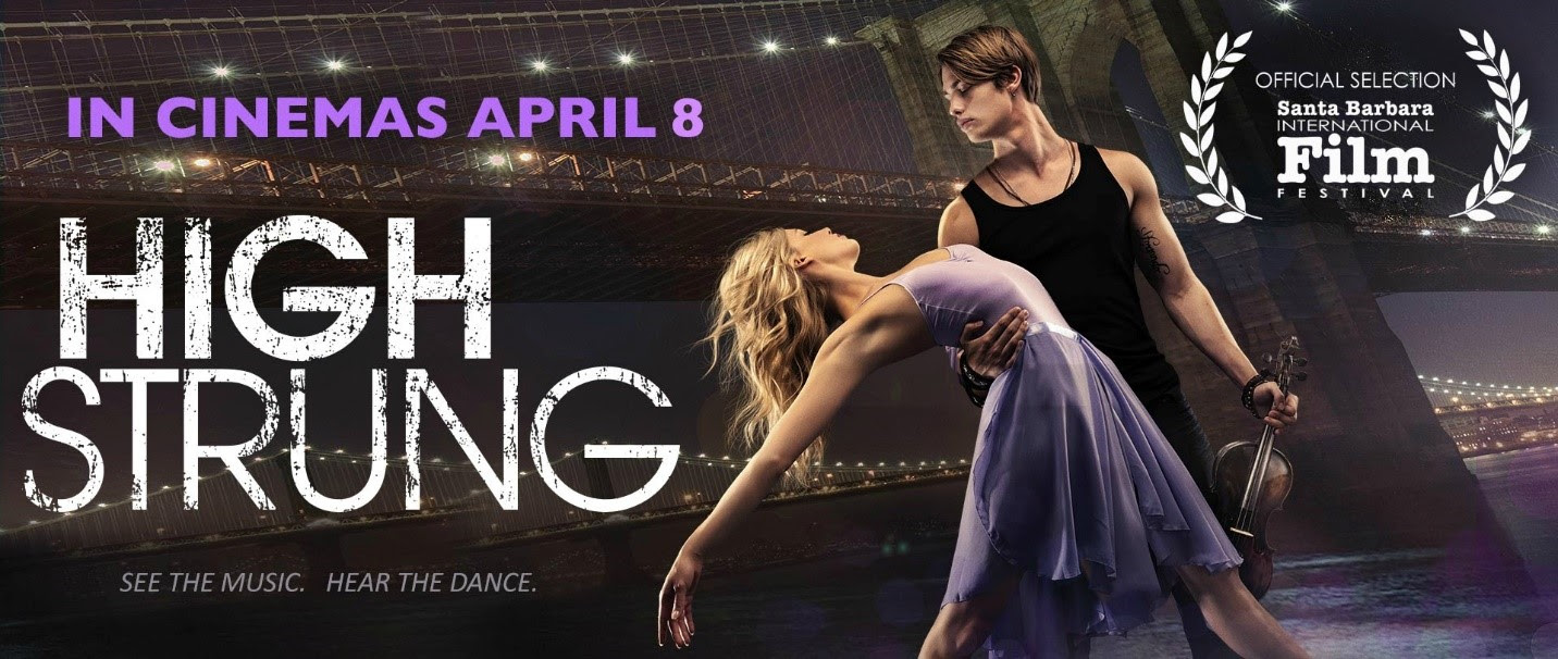 HIGH STRUNG opens in Cinemas April 8th!