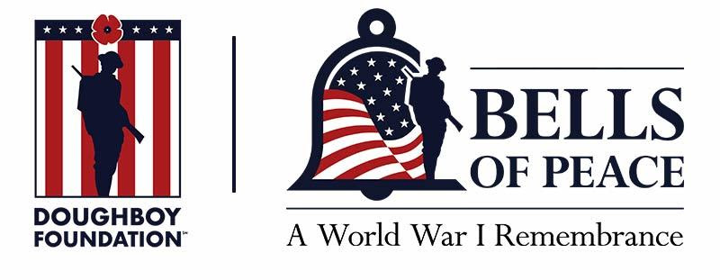doughboy foundation & bells of peace logo combo