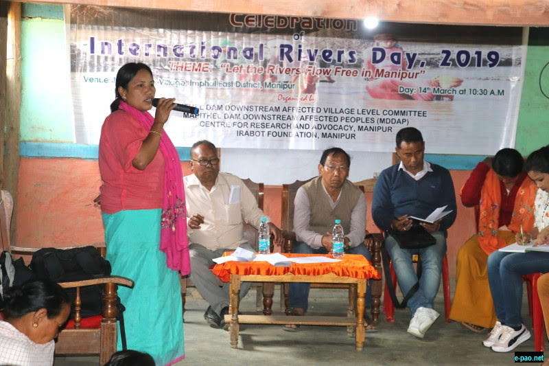 International Rivers Day at Nungbrung Village on 14th March 2019