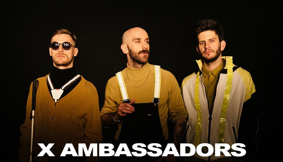 Como será a estreia do X Ambassadors em palcos brasileiros em maio
