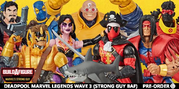 Deadpool Marvel Legends Wave 3
