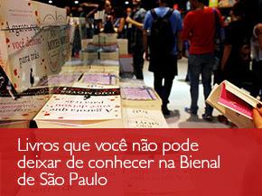Livros que você não pode deixar de conhecer na Bienal de São Paulo