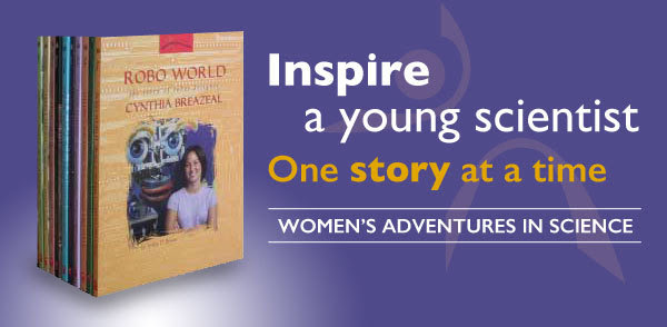 Inspire a young scientist...one story at a time.