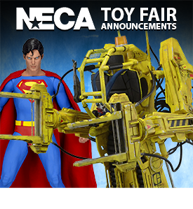 NECA TOY FAIR NEW PREORDERS