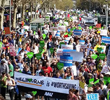 The climate march was a game changer
