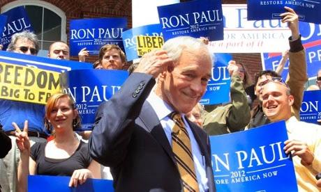 Ron Paul, ex senador y ex candidato presidencial de EEUU