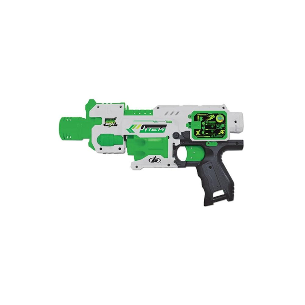 Pistola Automática de Dardos Max Steel - Fun Divirta-Se