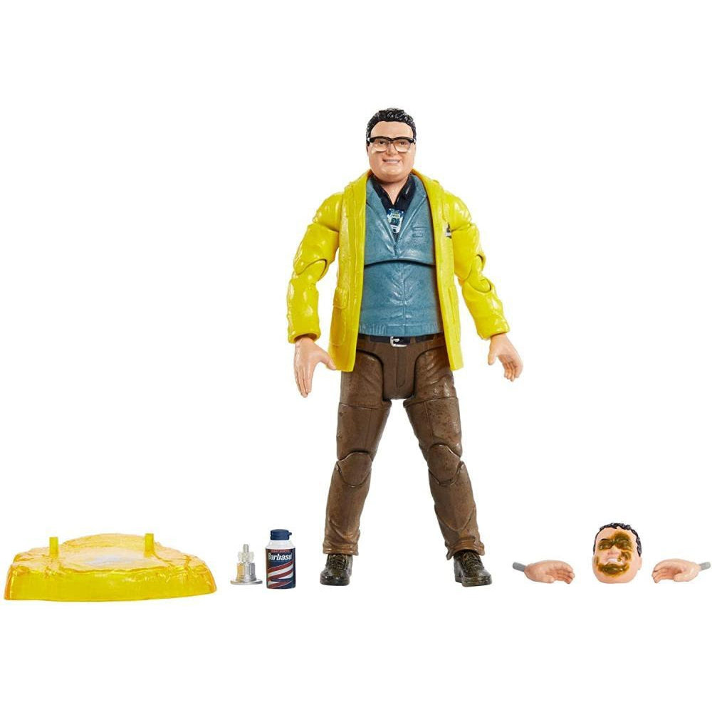 Image of Jurassic Park Dennis Nedry 6-Inch Scale Amber Collection Action Figure - JULY 2020