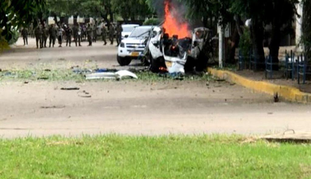 Noticias Caracol / Explosión en batallón de Cúcuta.