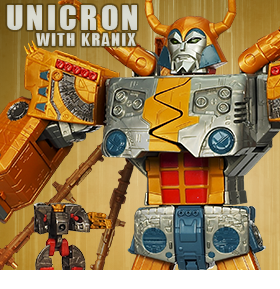 LIMITED EDITION UNICRON WITH KRANIX