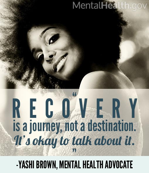 Yashi Graphic: Recovery is a journey