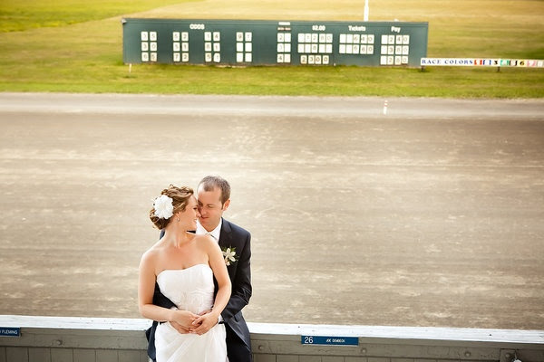 A harness racetrack wedding! Style Me Pretty | Gallery | Picture | #339342