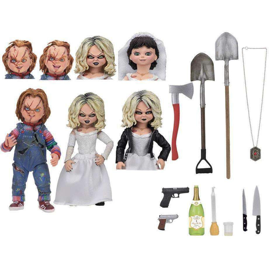 Image of Bride of Chucky Ultimate Chucky & Tiffany Two-Pack
