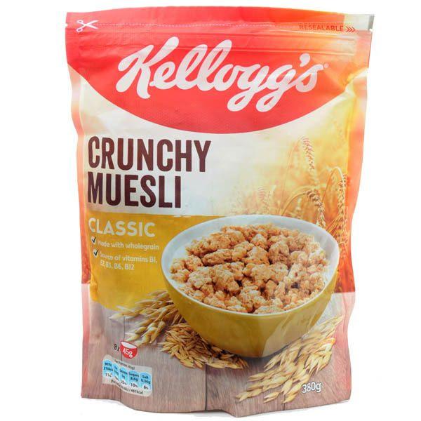 Kellogg's Crunchy Museli 380g