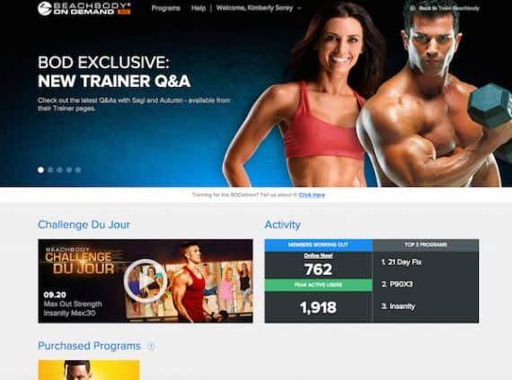Stream Your Workouts on Beachbody on Demand