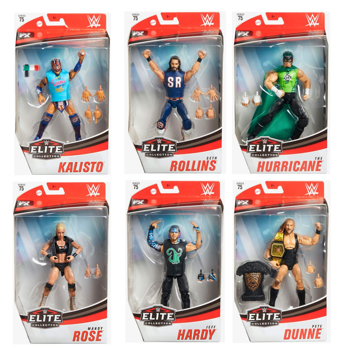 Image of WWE Elite Collection Series 75 - Complete Set of 6