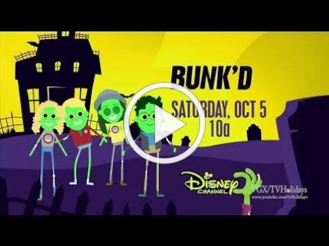 Disney Channel HD US Bunked Halloween Advert 2019