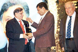 Dr Cyrus S Poonawalla named the EY Entrepreneur Of The Year at an event in Mumbai