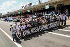 Homenagem da Sprint Race ao piloto Vinicius Margiota com 1 minuto de silêncio (Luciano Santos/SiGCom)