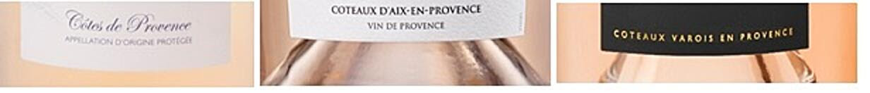 How to recognise AOP Provence Wines