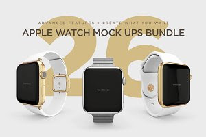 Watch Mock Ups Bundle
