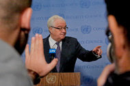 Vitaly I. Churkin, Russia's United Nations ambassador, said tensions with the United States were the worst since 1973.