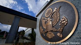Äthiopien US Botschaft in Addis Abeba (U.S. Embassy/S. Dumelie)