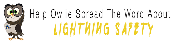 Help Owlie Spread The Word About Lightning Safety