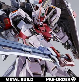 Gundam Metal Build Strike Rouge & Ootori Striker Exclusive