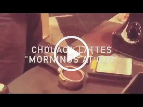 Cholaca Lattes at Ozo Coffee Company