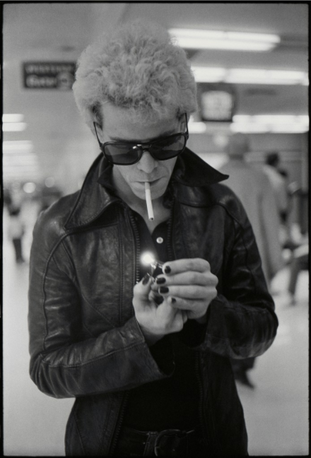 Lou Reed at SFO, © Michael Zagaris