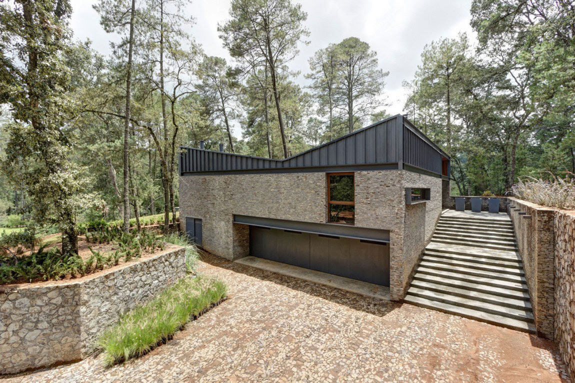 Όμορφη Casa ΜΜ με ένα σύγχρονο σχέδιο που δημιουργείται από τον Ηλία Ρίζο Arquitectos (2)