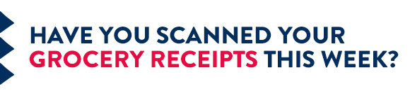 Have you scanned your grocery receipts this week?