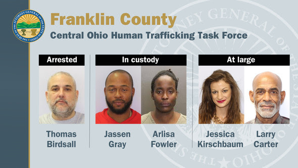 Central Ohio HT TF arrests 3/24