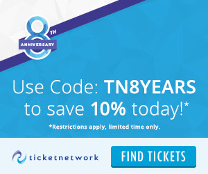 TicketNetwork 8th Anniversary.