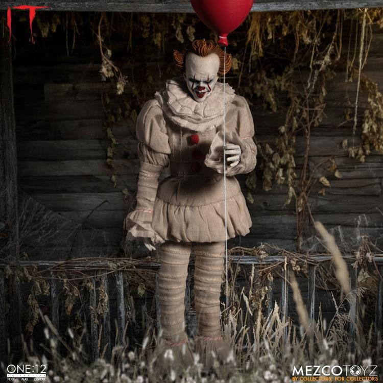 Image of It (2017) One:12 Collective Pennywise