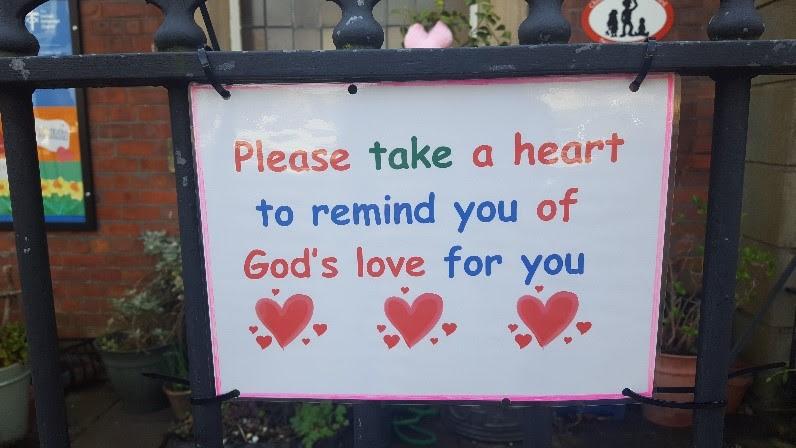 take a heart poster
