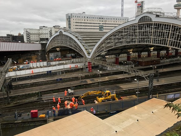 Final weekend of work as Lime Street upgrade continues
