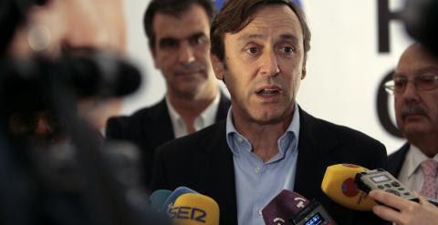El portavoz del Grupo Popular en el Congreso, Rafael Hernando. EFE/Pepe Zamora