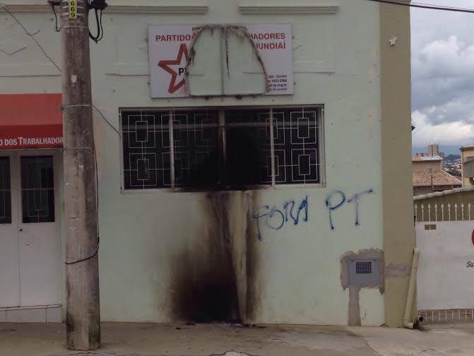 La sede del PT en Sao Paolo fue atacada